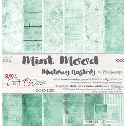 MINT MOOD - 12 x 12