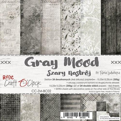 GRAY MOOD - 6 x 6