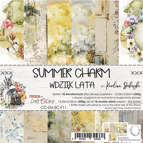 SUMMER CHARM - 6 x 6