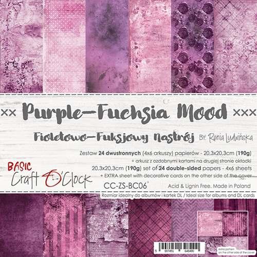 PURPLE-FUCHSIA MOOD - 8 x 8