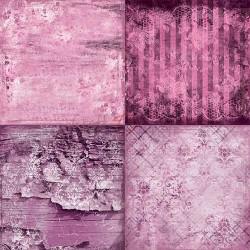 PURPLE-FUCHSIA MOOD - 6 x 6