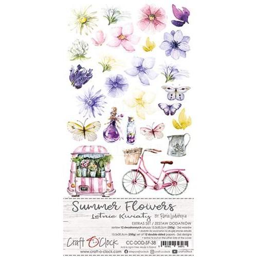 SUMMER FLOWERS - 6 x 12