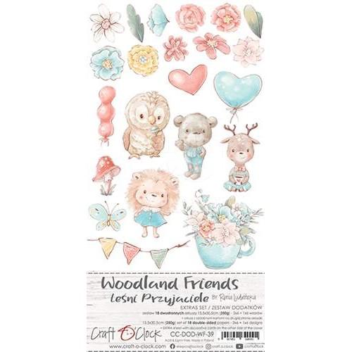WOODLAND FRIENDS - 6 x 12