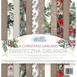 A CHRISTMAS GARLAND - 12 x 12