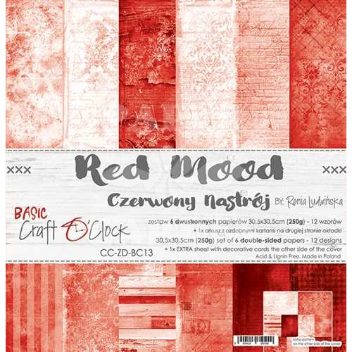 RED MOOD - 12 x 12