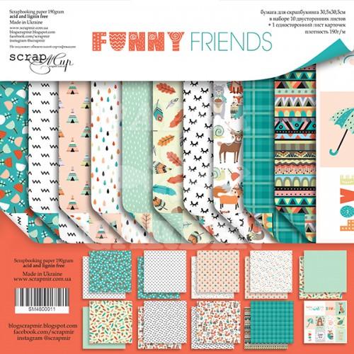 FUNNY FRIENDS - 12 x 12