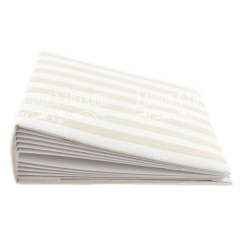 Beige stripes - 20 x 20 cm