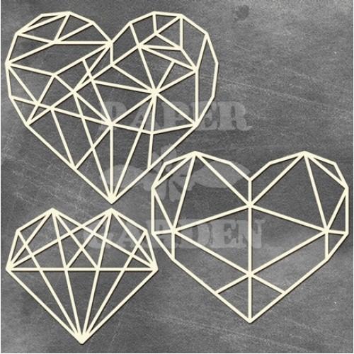 MEGACHIPBOARD - Geometrické srdce