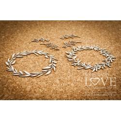 LOVE LLAMA - věnečky + větvičky