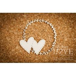 SIMPLE WEDDING - Srdce v rámečku