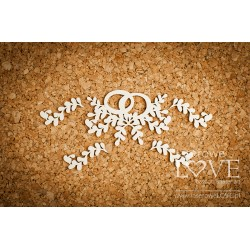 SIMPLE WEDDING - Prstýnky s dekorem