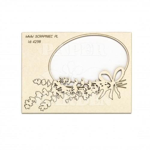 Lavender Mist - Rámeček ovál 1 ks
