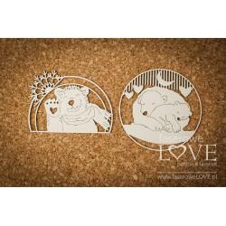 ARCTIC SWEETIES - Lední medvědi v rámečku