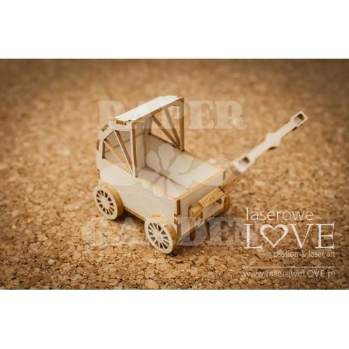 VINTAGE BABY - 3D kočárek