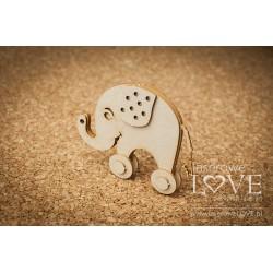 VINTAGE BABY - 3D slon