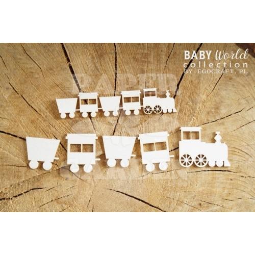 BABY WORLD - Vláček