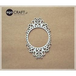 V rytmu srdce - Rámeček kruh