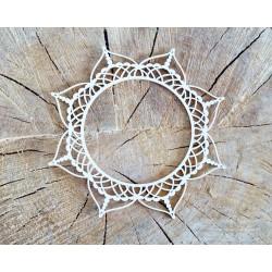Pretty mesh - rámeček kruh vz.1