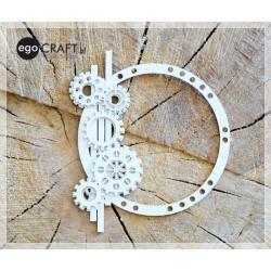Tick-tock - rámeček kruh 2D