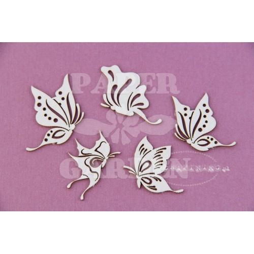 Rajský motýl set
