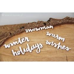 Just Chillin - Holidays - nápisy