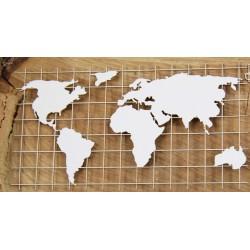 Travel the World - mapa světa