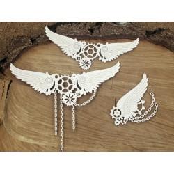 Flying hearts - Křídla (velká)