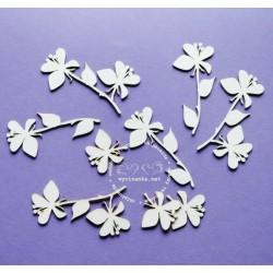 V ZAHRADĚ - Jabloňové květy