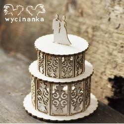 JUST MARRIED  - Svatební dort 3D