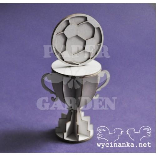 Pohár - fotbal 3D