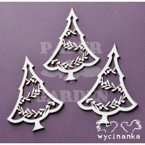 ALL ABOUT CHRISTMAS - Stromečky s lístečky