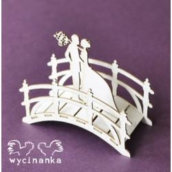3D mostek s novomanžely