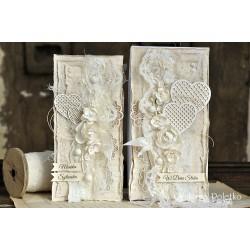 BEAUTIFUL WEDDING - Srdíčka s puntíky