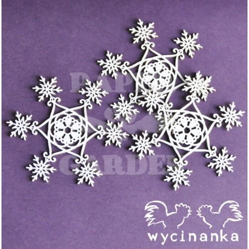SNOWY EVENING - Vločky - 02