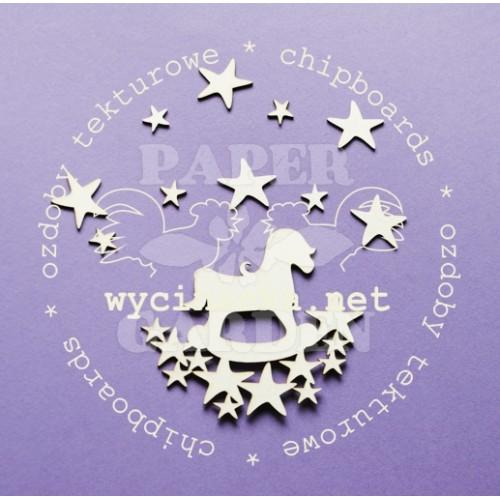 Houpací koník a hvězdičky