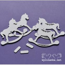 Houpací kůň 3D