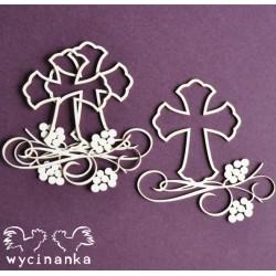 SACRUM - kříž s dekorem