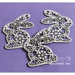 Velikonoční zajíček s ornamenty