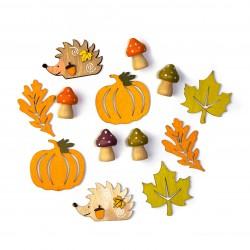 Sada podzimních dekorací