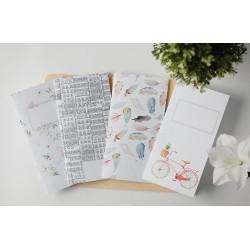 Traveler's Notebook - SO ROMANTIC - Flowers