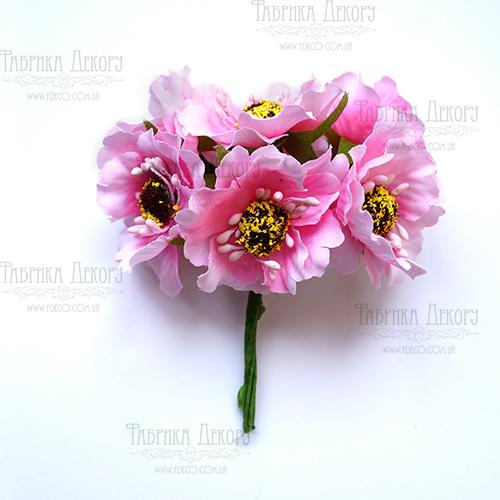 Růžové - 6 ks