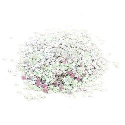 Hvězdičky MINI - Bílé s AB efektem