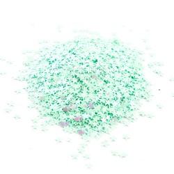 Hvězdičky MINI - Mint s AB efektem
