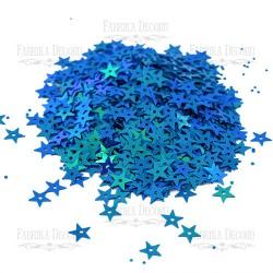 Hvězdičky - Modré s AB efektem