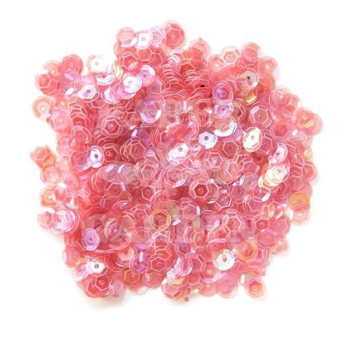 Růžová transparentní