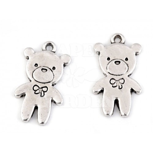 Medvídci 2 ks (platina)