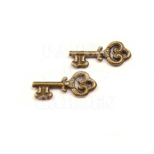 Klíček 5 ks (staromosaz)