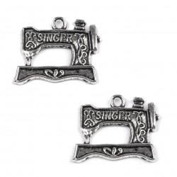 Šicí stroj SINGER 2 ks (platina)