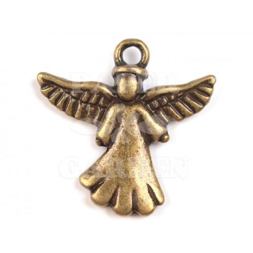 Anděl 2 ks (staromosaz)