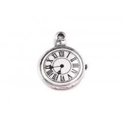 Vintage hodiny 1 ks (platina)